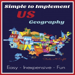 Simple to Implement US Geogrpahy