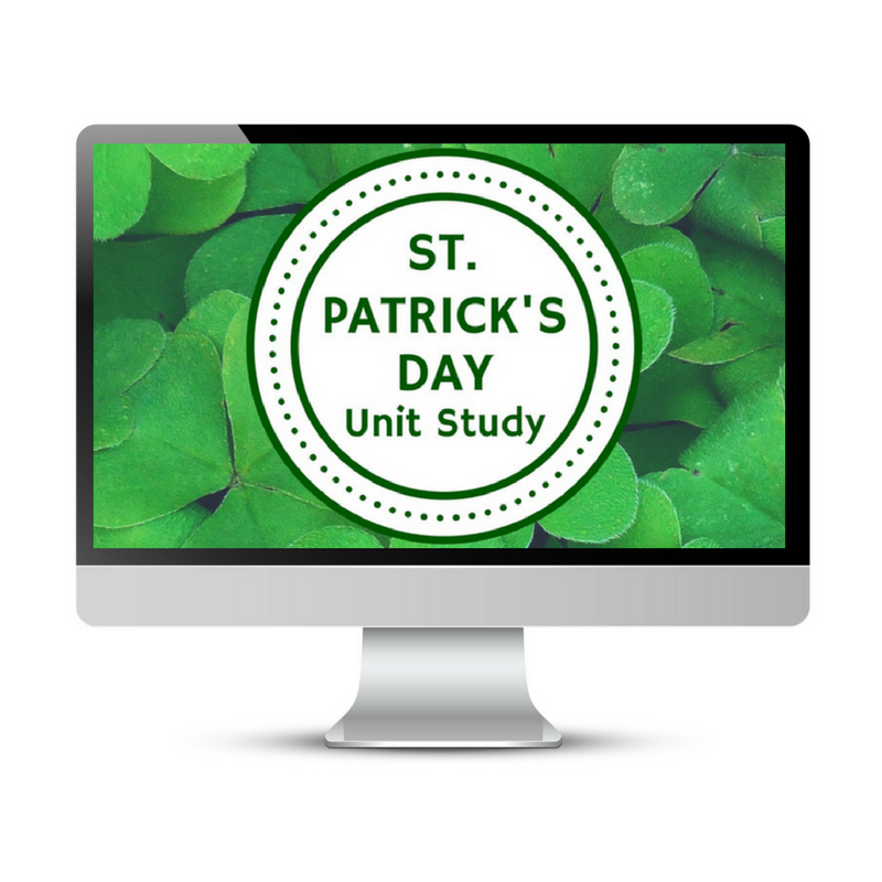 St Patricks Day Unit Study