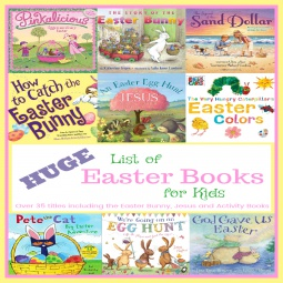 HUGE List of Easter Books for Kids