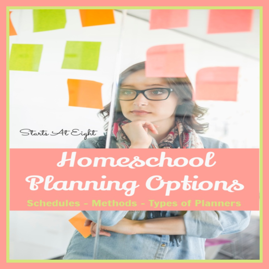 Homeschool Planning Options
