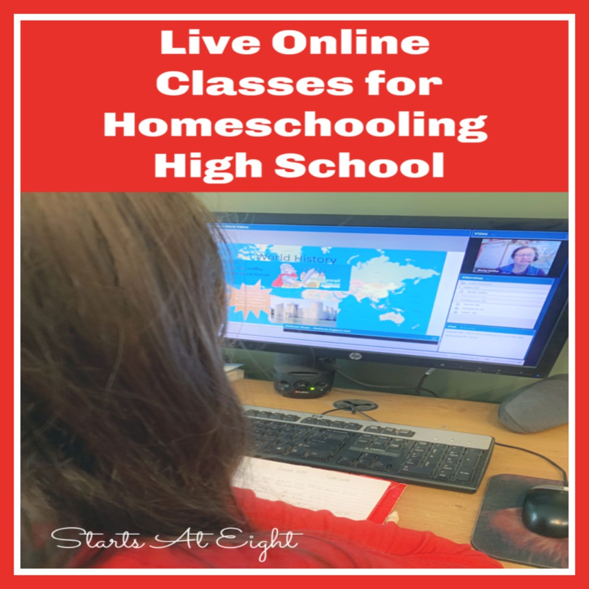 Live Online Classes for Homeschooling High School
