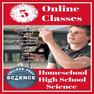 5 Online Classes for Homeschool High School Science
