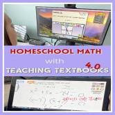 Homeschool Math with Teaching Textbooks 4.0
