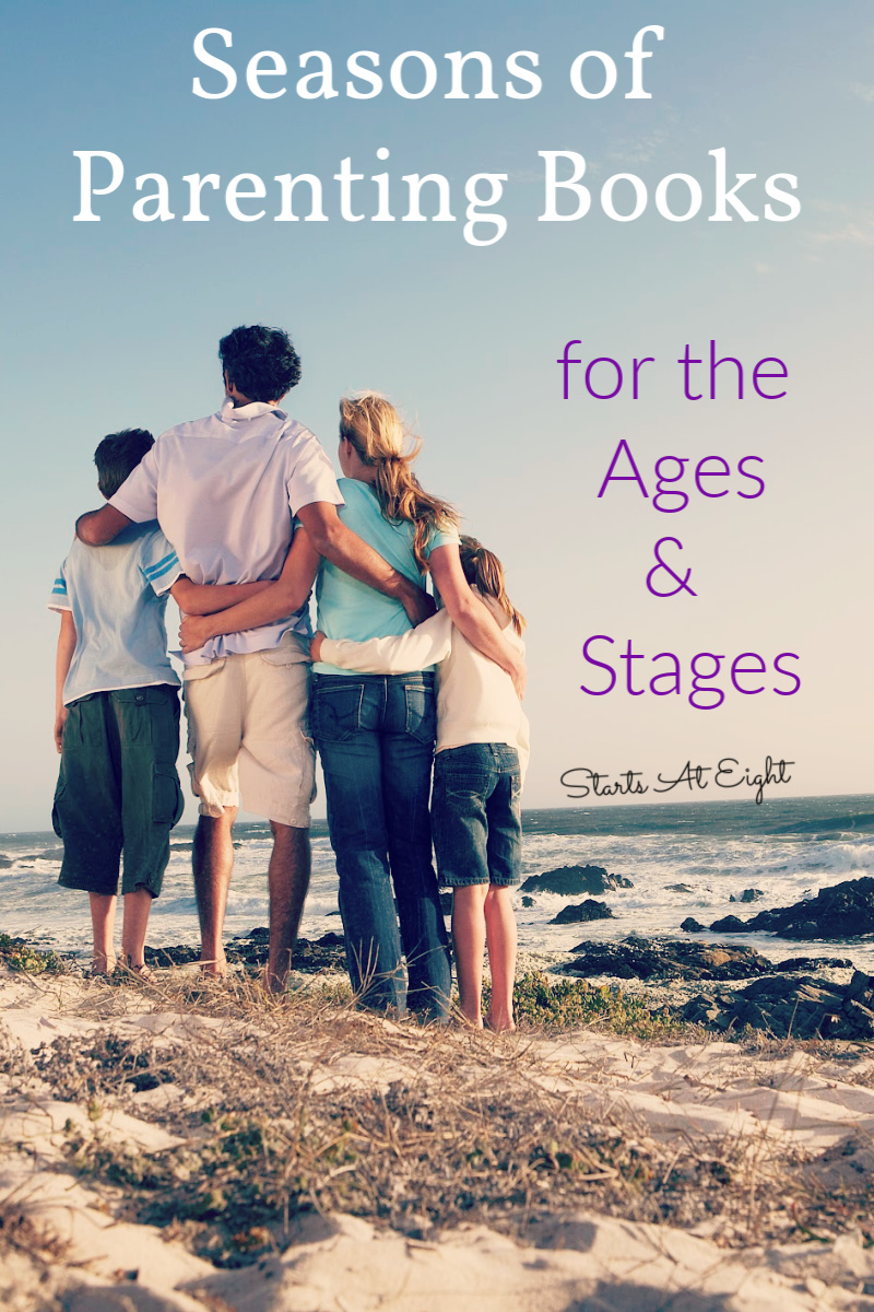 Seasons of Parenting Books for the Ages & Stages is a compilation of many of the parenting books I have read, used, and loved along my parenting journey.