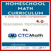 Homeschool Math Curriculum: Teaching Textbooks 4.0 vs. CTCMath