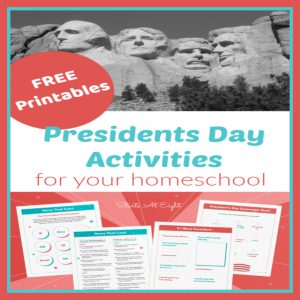FREE Presidents Day Activities for Homeschool