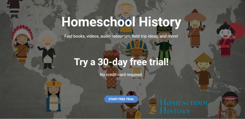 Homeschool History Free Trial