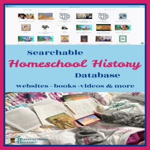 Searchable Homeschool History Database