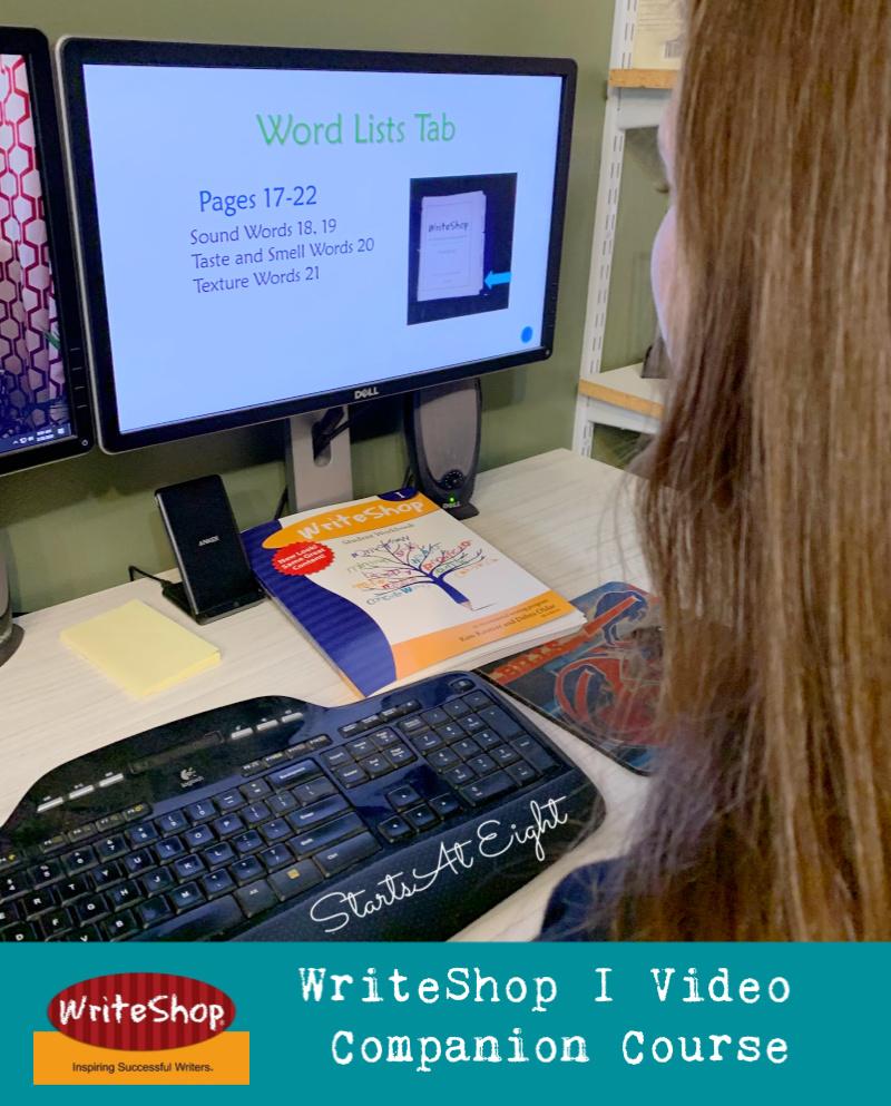 WriteShop I Video Companion Course