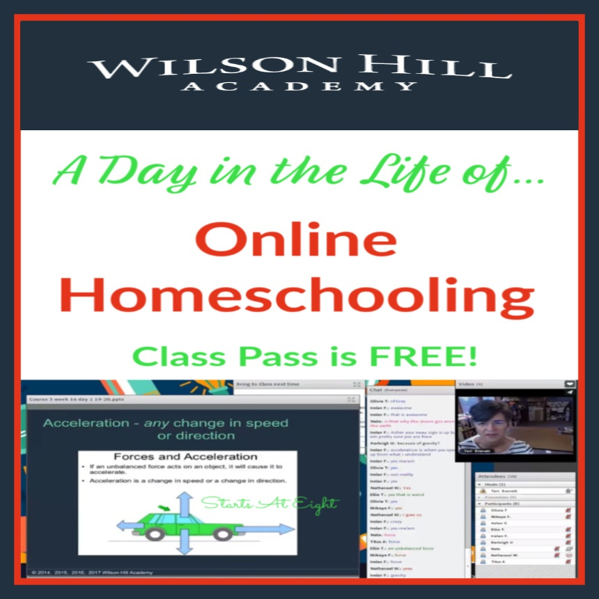 A Day in the Life of Online Homeschooling