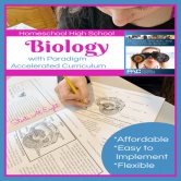 Homeschool High School Biology with Paradigm Accelerated Curriculum