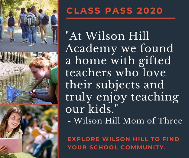 A Day in the Life of Online Homeschooling with Wilson Hill Academy is an inside look into Wilson Hill Academy's online classes. View a myriad of full class recordings to see what it's really like. NO Credit Card needed! It's FREE!