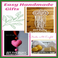 Easy Unique Handmade Gifts