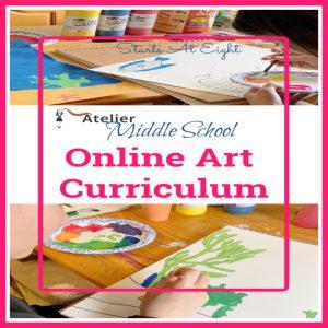 Middle School Online Art Curriculum