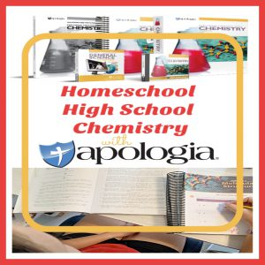 Homeschool High School Chemistry with Apologia