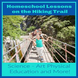 Homeschool Lessons on the Hiking Trail