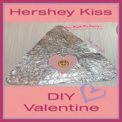 Hershey Kiss DIY Valentine