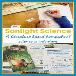 Sonlight Science – Literature Based Homeschool Science Curriculum