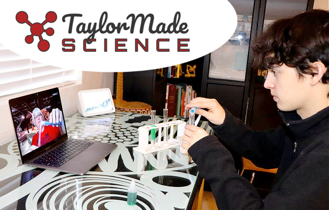 Taylor Made Science offers secular, lab-based science courses that promote science literacy and critical thinking skills. Prepare your student for college and for life!