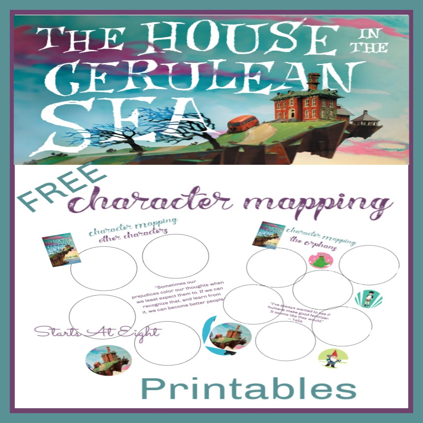 The House in the Cerulean Sea Character Mapping – FREE Printable