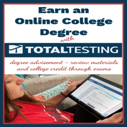 Flexible Online College Degree with Total Testing