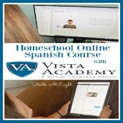 Homeschool Online Spanish Course with Vista Academy