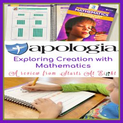 Apologia Homeschool Elementary Math Curriculum