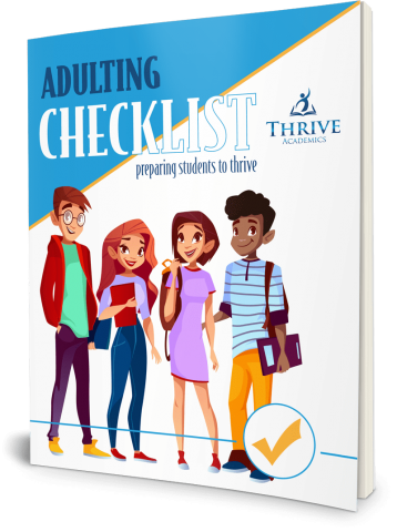 FREE Adulting Checklist - preparing students to thrive
