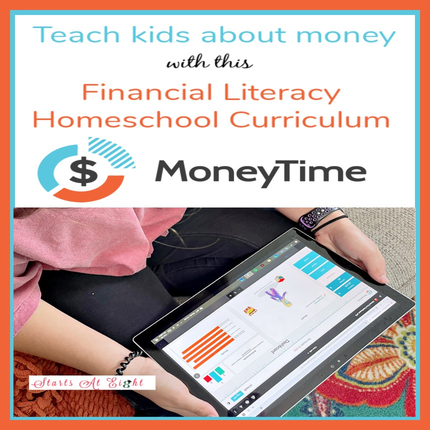 Teach Kids About Money with this Financial Literacy Homeschool Curriculum