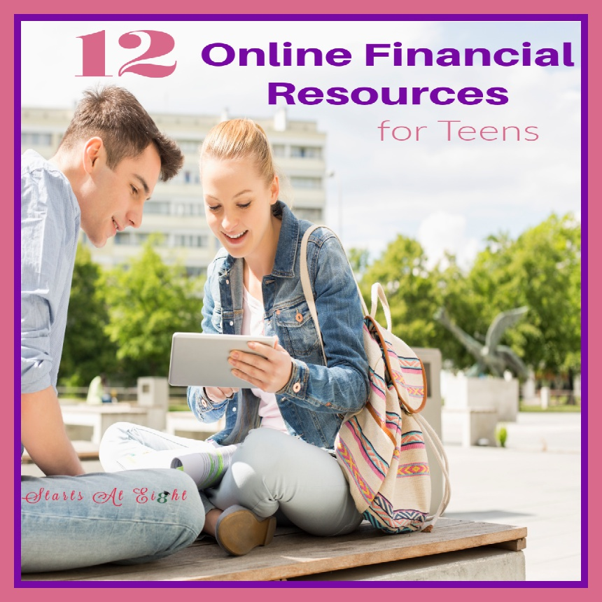 12 Online Financial Resources for Teens