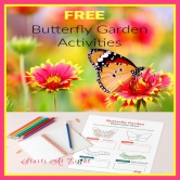 FREE Butterfly Garden Activities for Families