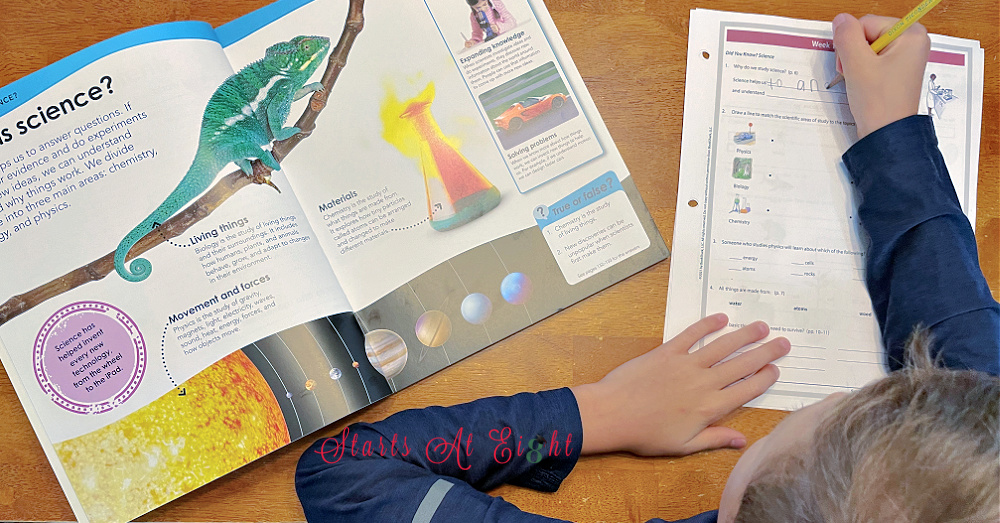 BookShark Science Level D Activity Sheets
