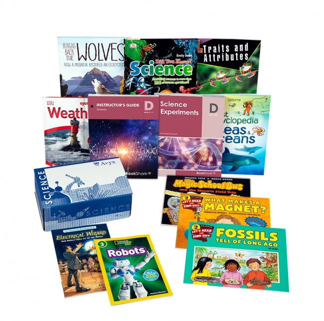 BookShark Elementary Science Curriculum is an open & go, literature based, hands-on, secular science curriculum for homeschoolers.