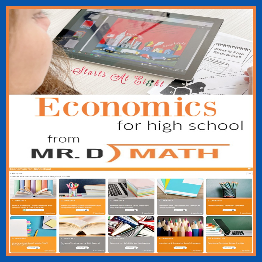 Economics for High School with Mr. D Math